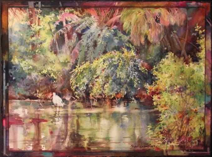 """Catherine W. Smith The Glades - 17"""" x 23"""""""